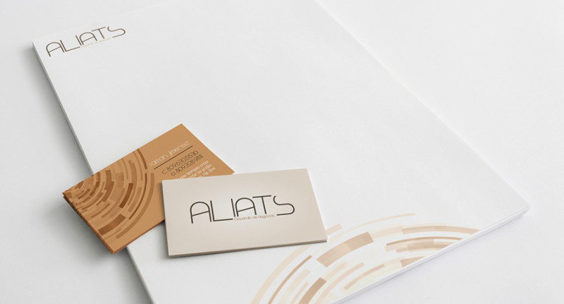 aliats branding & stationery